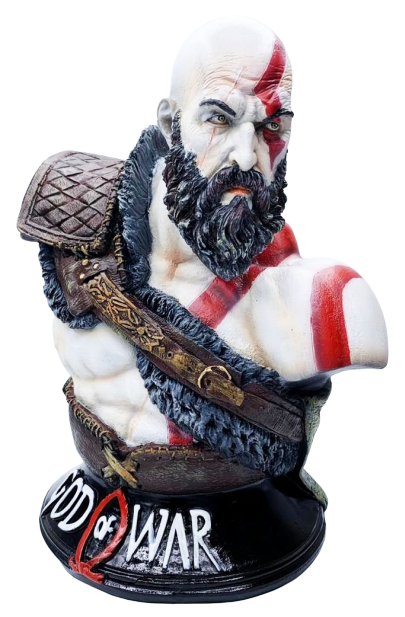 Busto Kratos: God of War