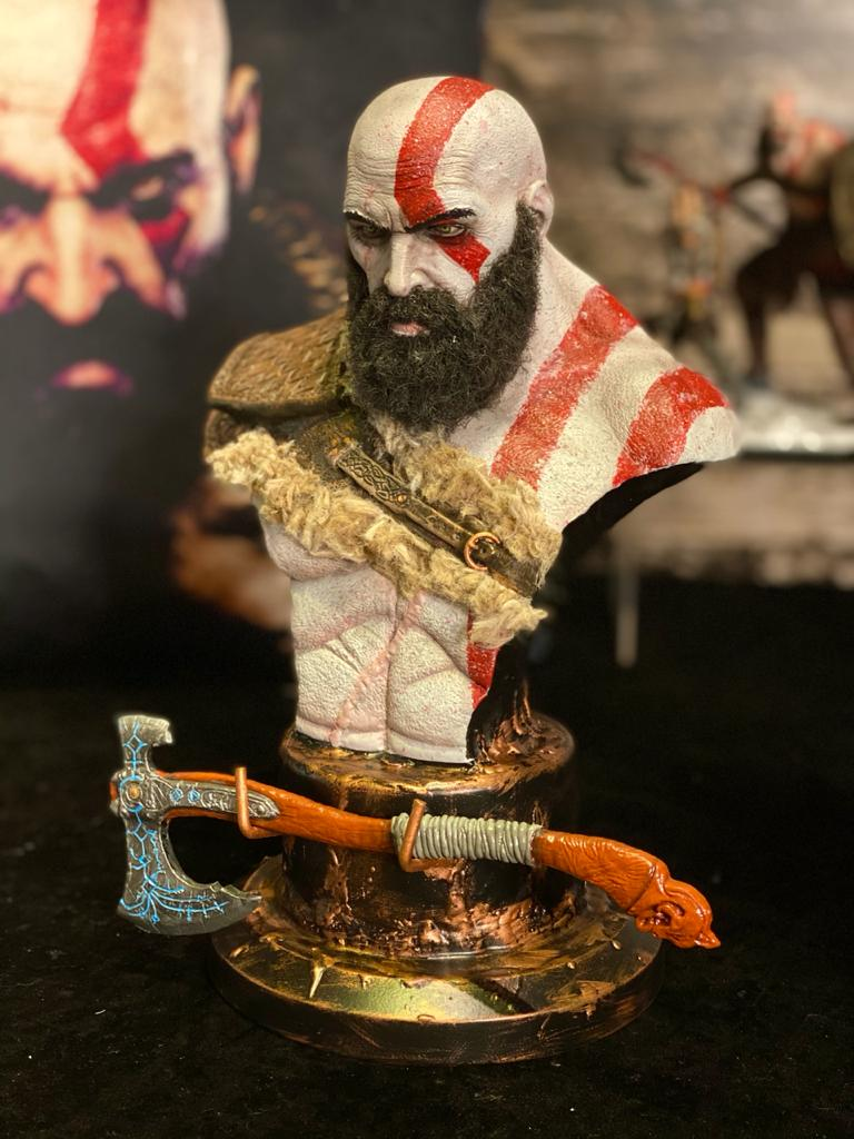Busto: Kratos - God Of War