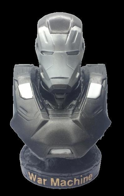 Busto Máquina de Combate (War Machine): Vingadores (Avengers) - Marvel