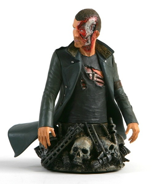 Busto Marcus Wright: Terminator Salvation - DC Unlimited