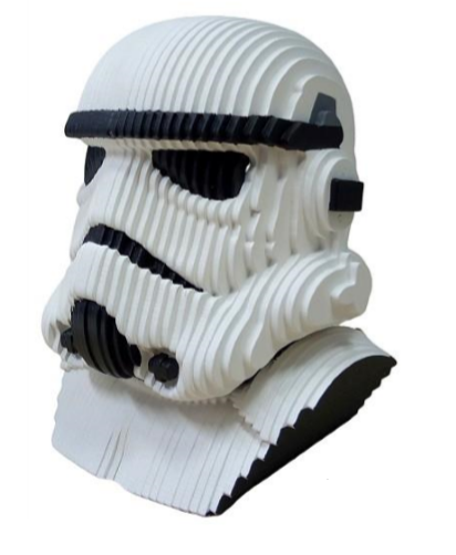 Busto MDF Colorido Stormtrooper: Star Wars - EV