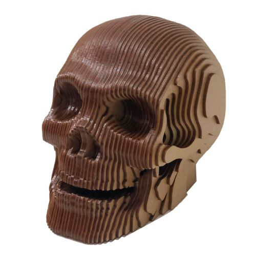 Busto MDF Crânio (Caveira)