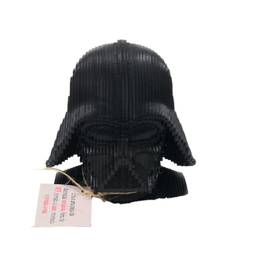 Busto MDF Darth Vader: Star Wars (Preto)