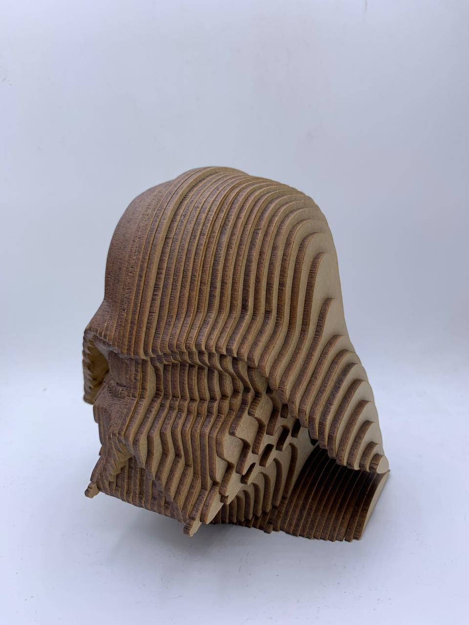 Busto MDF Darth Vader: Star Wars