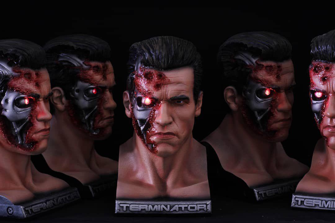 Busto O Exterminador (The Terminator): O Exterminador do Futuro