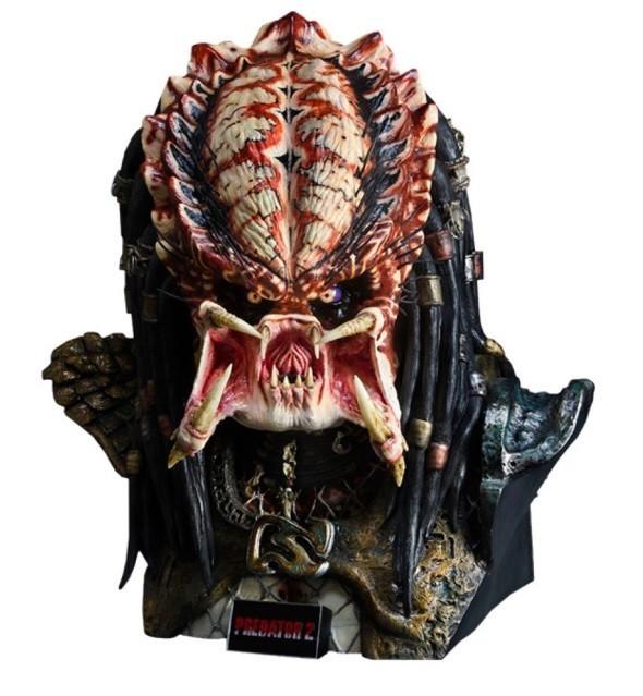 Busto Predador (Predator 2 Life Size) Escala 1/1 - Sideshow - CD