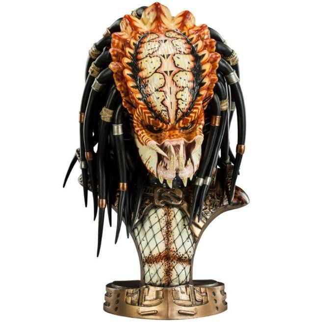 Busto Predador: Predator 2 (Unmasked Legendary) Escala 1/2 - Sideshow