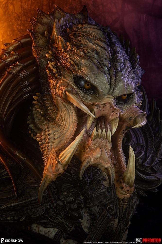 PRÉ VENDA: Estátua Busto: Predator Barbarian Mythos: (Predador) Legendary - Sideshow