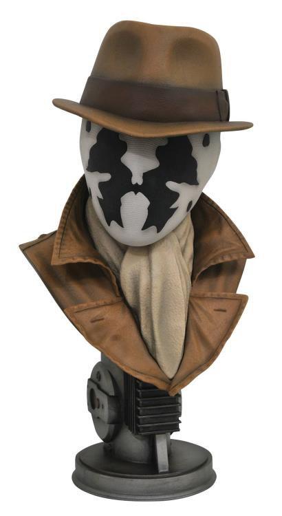 Busto Rorschach: Watchmen (Legendary Film) Escala 1/2 - Diamond Select
