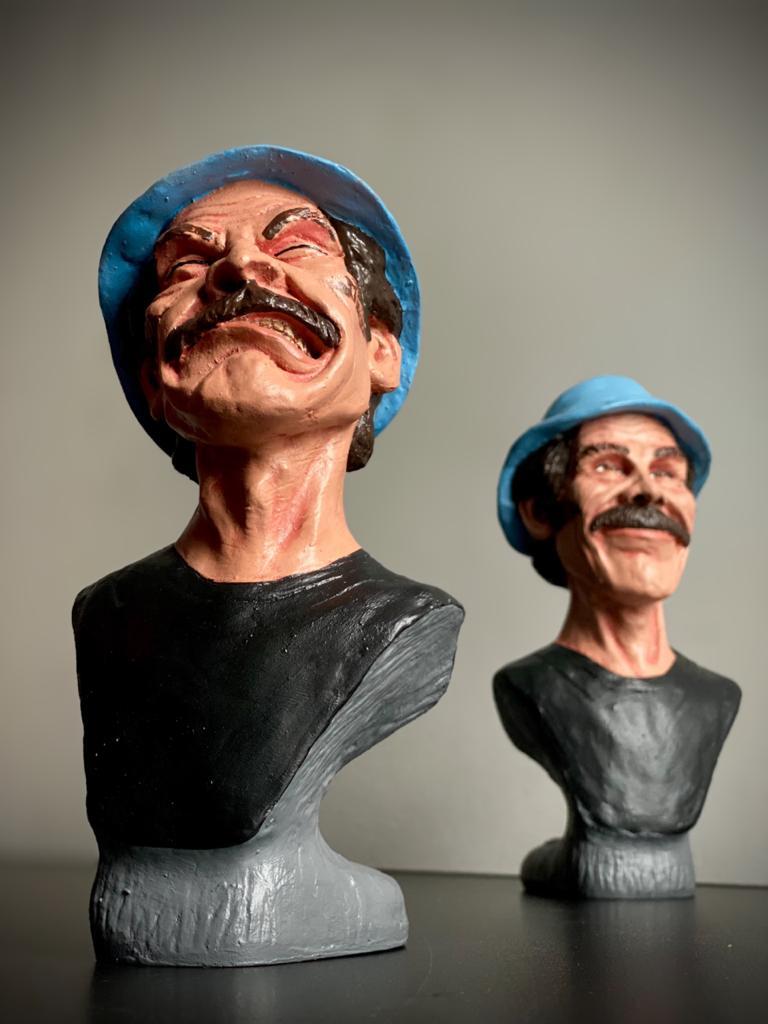 Busto Seu Madruga com Raiva: Chaves (17cm) - EV
