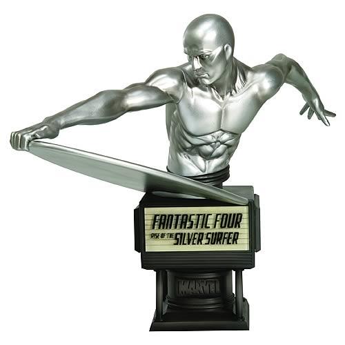 Busto Surfista Prateado (Silver Surfer): Quarteto Fatástico (Fantastic Four) - Kotobukiya