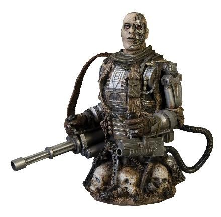 Busto T-600: Terminator Salvation - DC Unlimited