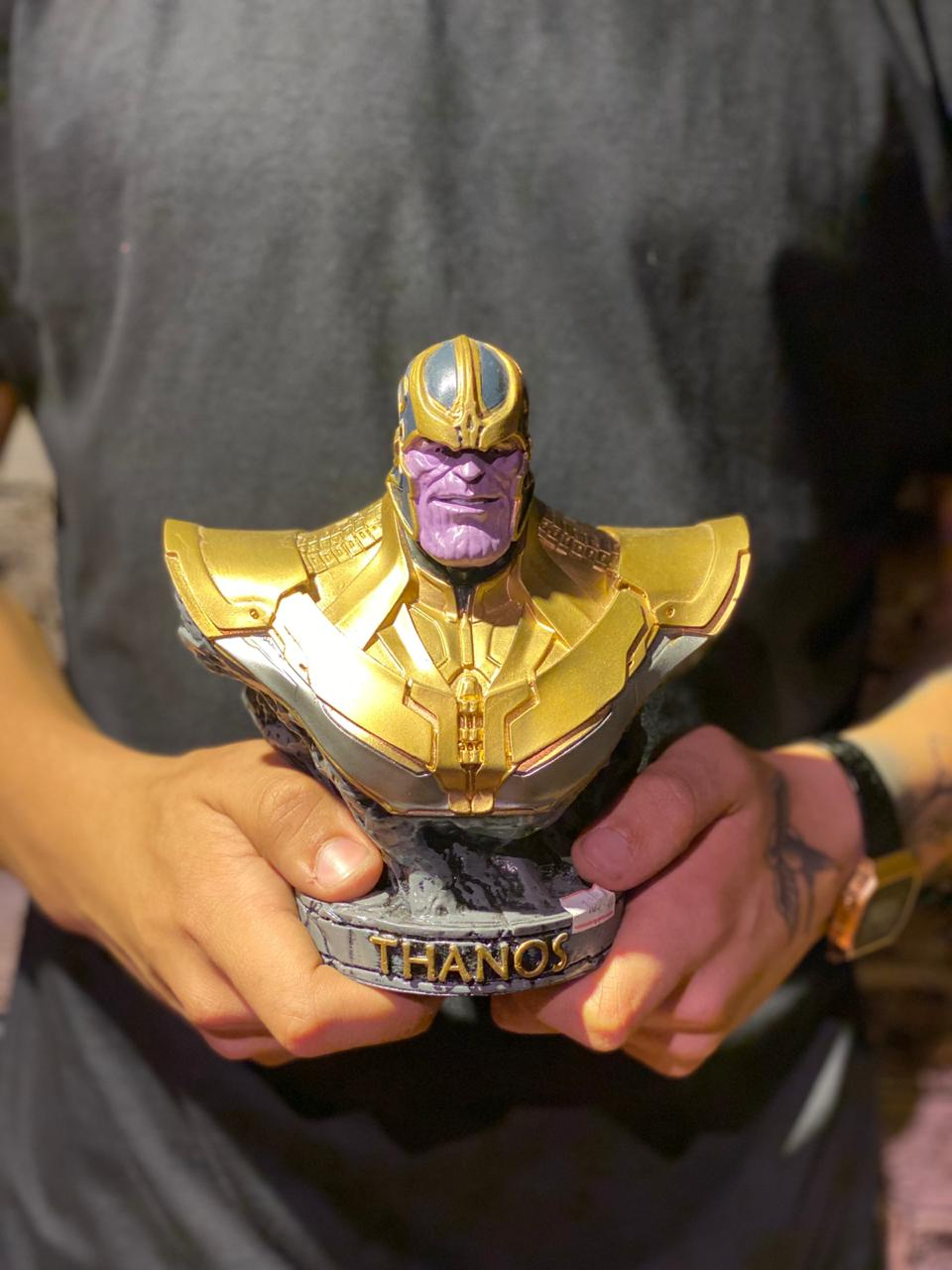 Estátua Busto Thanos: Marvel Comics - Wars - EV