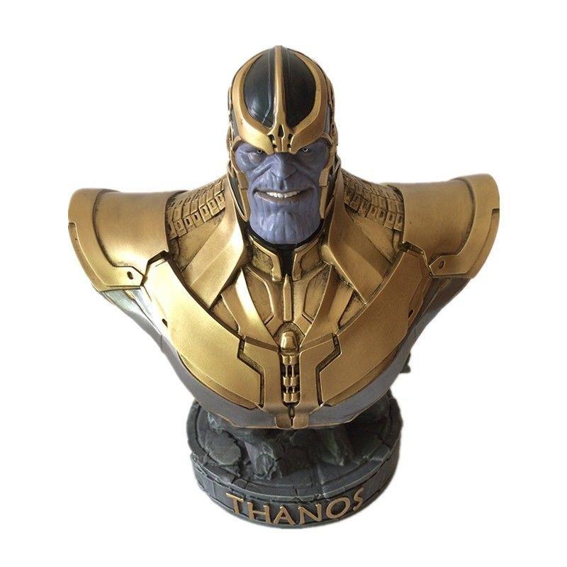 Busto Thanos: Vingadores Guerra Infinita (Avengers Infinity War)