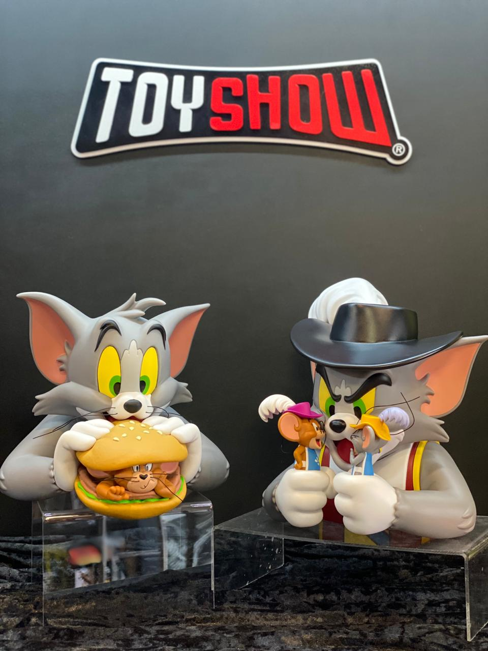 Busto Tom and Jerry Burguer: Tom e Jerry (Vinyl) - Soap Studios