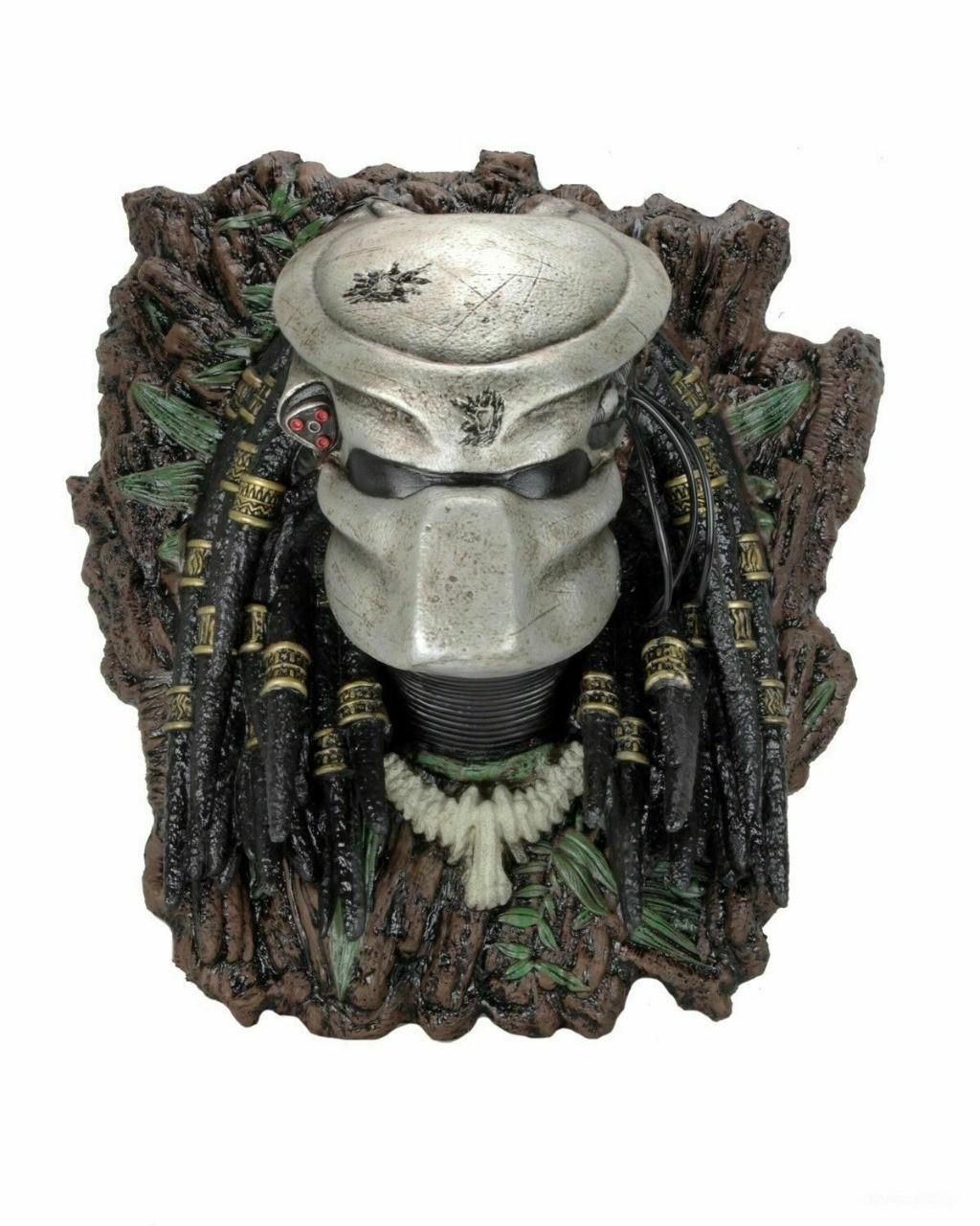 Estátua Busto Troféu Predador: Predator - Neca