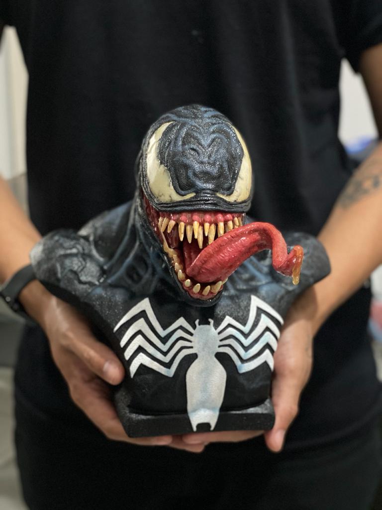 Estátua Busto Venom: Marvel