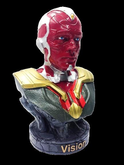 Busto Visão (Vision): Vingadores Guerra Infinita (Avengers Infinity War)