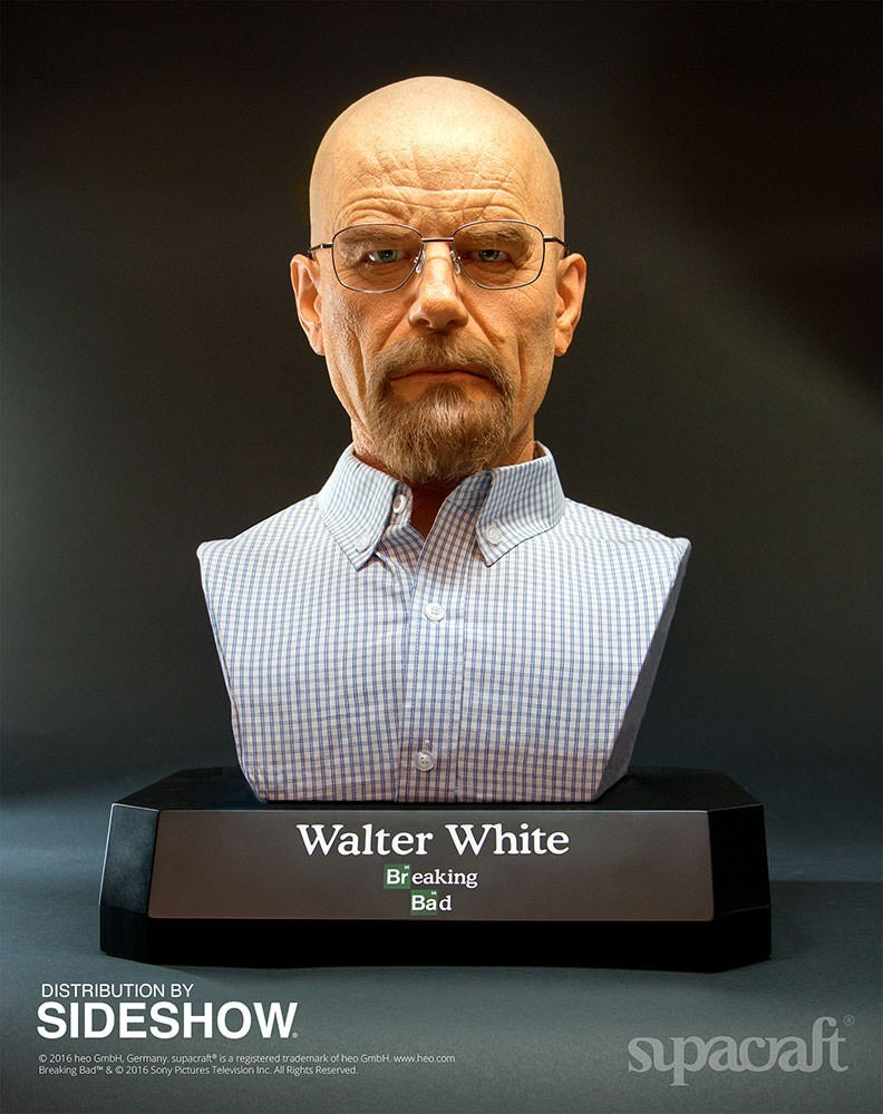 Busto Walter White: Breaking Bad Life-Size - Sideshow - CD