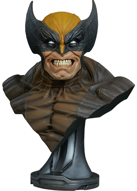 Busto Wolverine: X-Men Collection (Marvel) Escala 1/1 - Sideshow