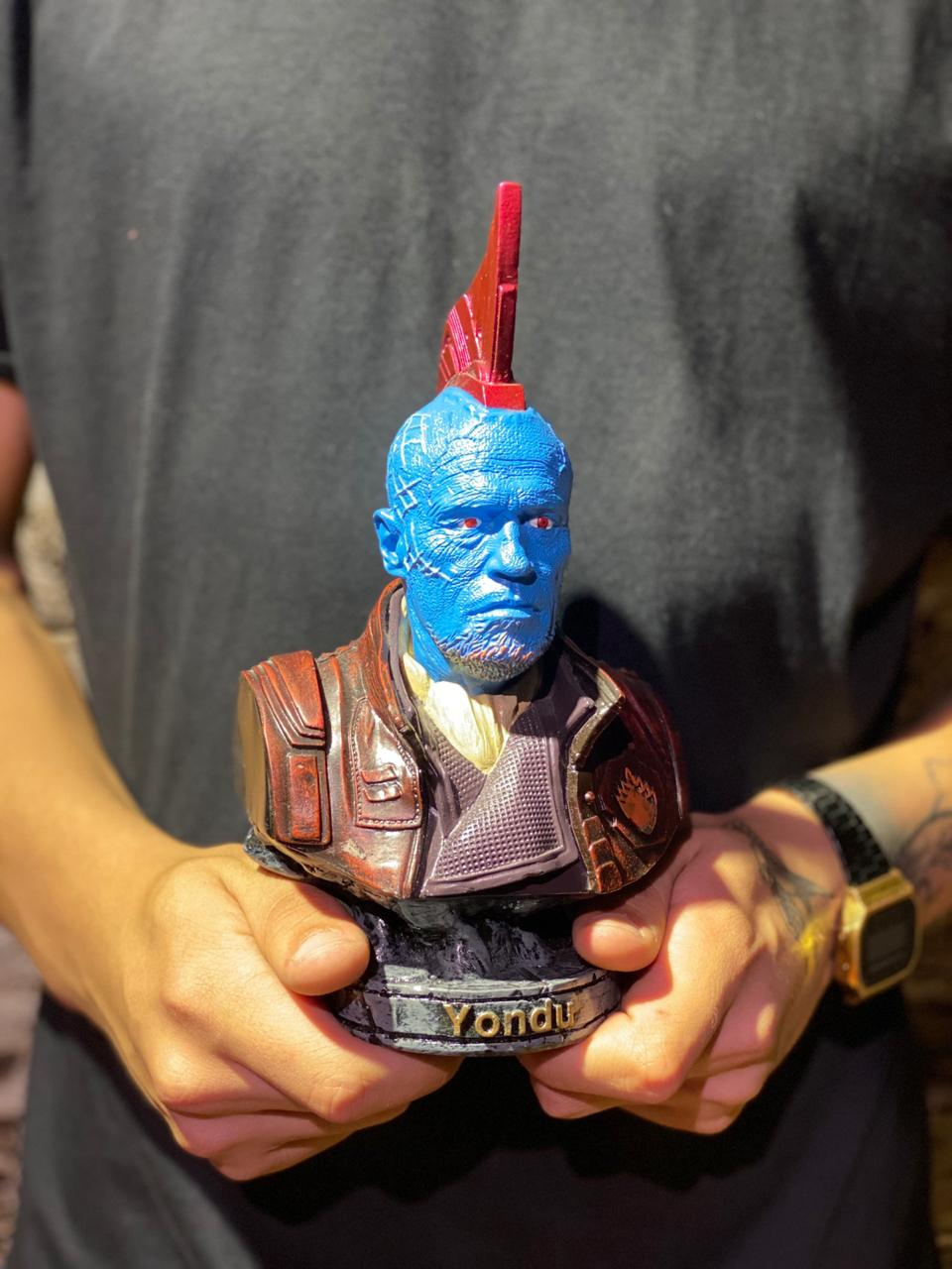 Busto Yondu: Guardiões das Galáxias -  Marvel Comics -wars