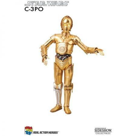 C-3PO Talking RAH 1:6 - Medicom