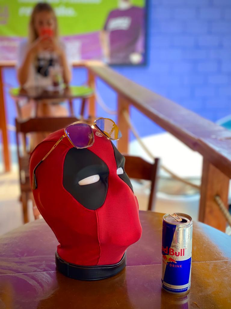 Cabeça Deadpool (Premium) Interativa: Marvel Legends - Hasbro