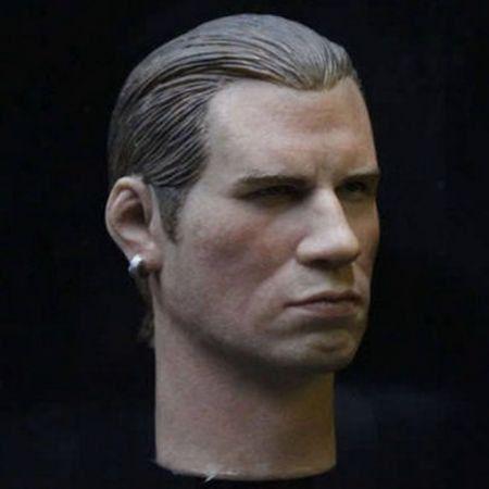 Cabeça John Travolta Escala 1:6 - HeadPlay