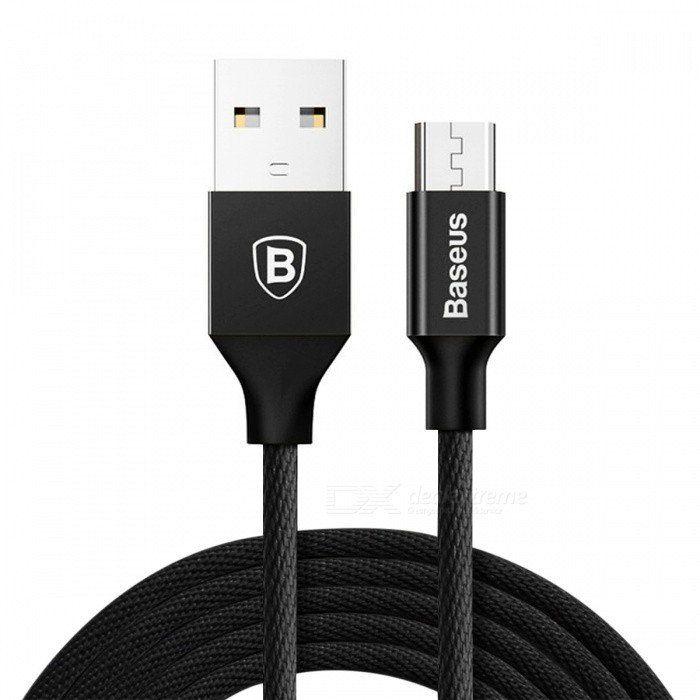 Cabo micro USB 1,5 m - Preto