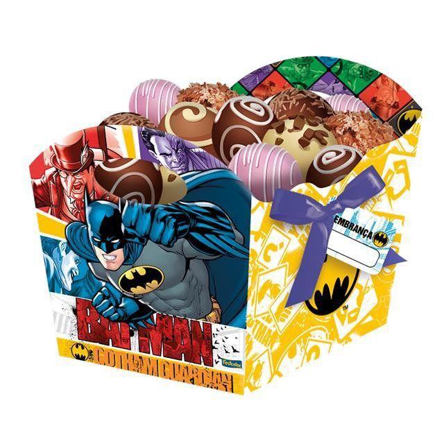 Cachepot Médio Batman 2016 - Festcolor