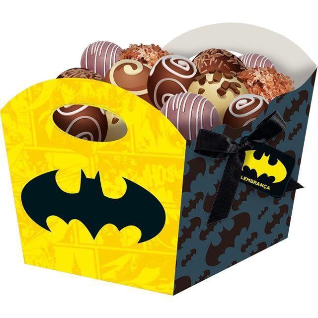 Cachepot Médio Batman Geek - Festcolor
