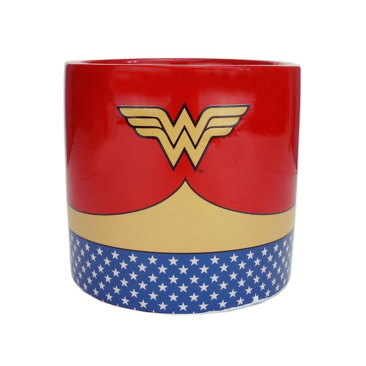 Cachepot Mulher-Maravilha (Wonder Woman): DC Comics - Urban