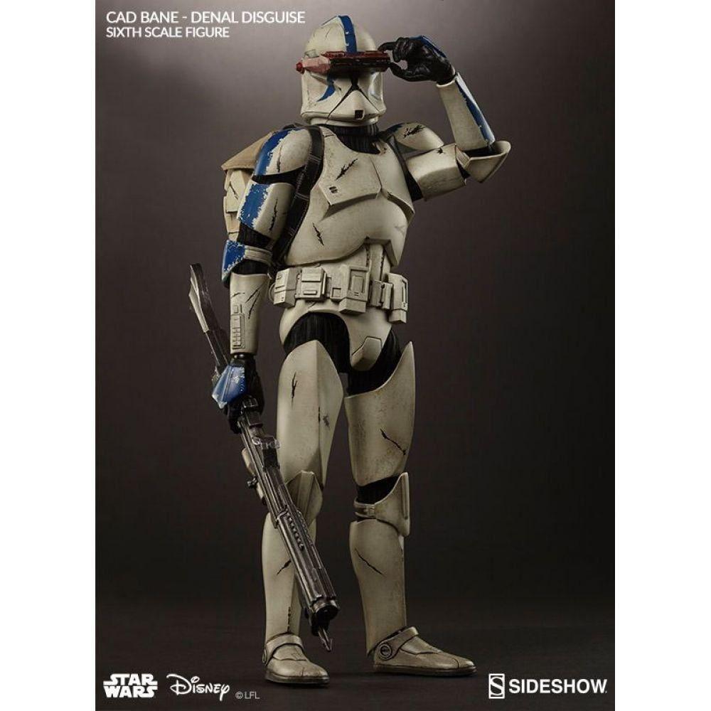 Boneco Cad Bane: Star Wars Denal Disguise Escala 1/6 - Sideshow