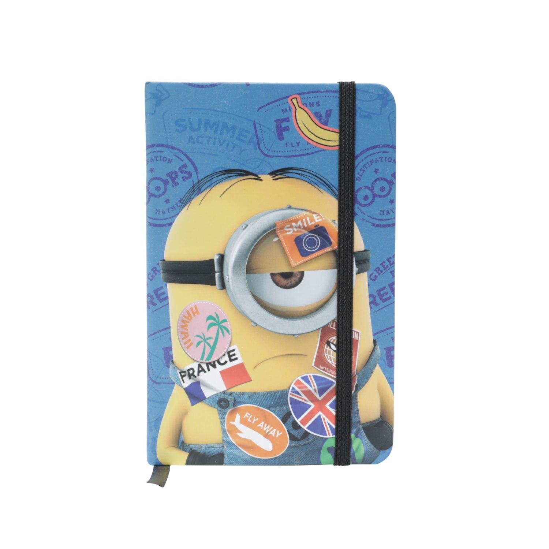 Caderneta de Anotação (A6) Minion Viajante: Minions - Urban