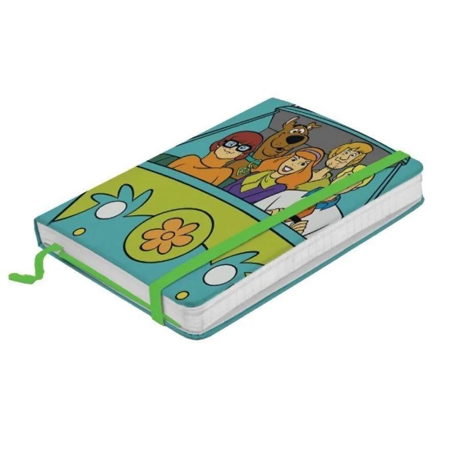 Caderneta de Anotação (A6) Pequeno Scooby-Doo Máquina do Mistério - Metropole