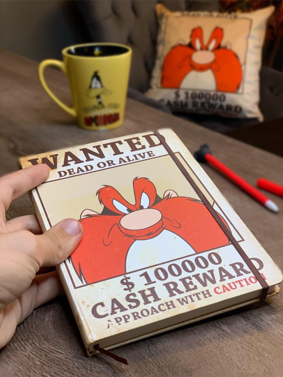 Caderneta de Anotação Eufrazino: Looney Tunes (A6)