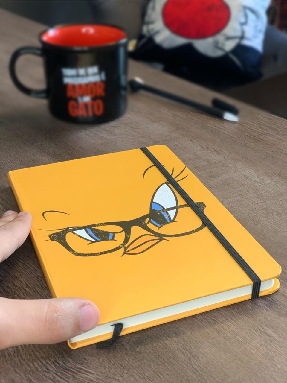Caderneta de Anotação (A6) Piu-Piu: Looney Tunes - Metropole