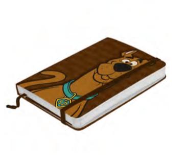 Caderneta de Anotação Scooby-Doo (A5)