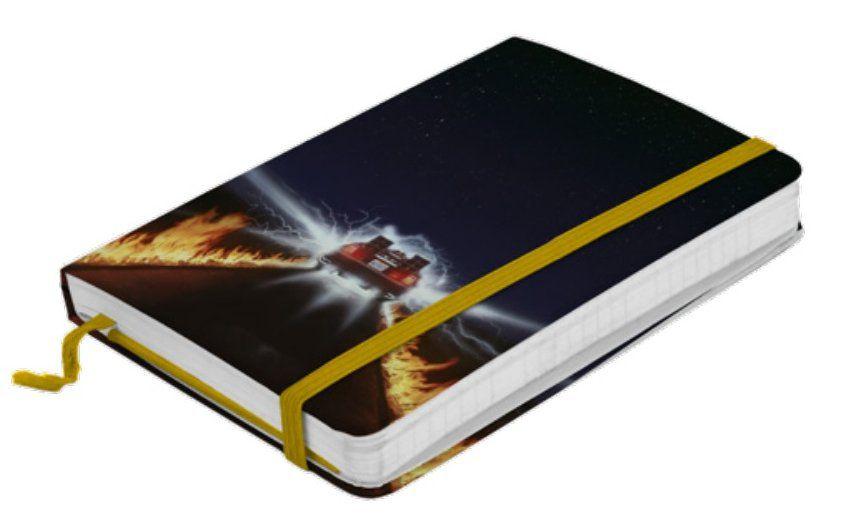 Caderneta de Anotações: De Volta Para o Futuro (Back to the Future) (A5)