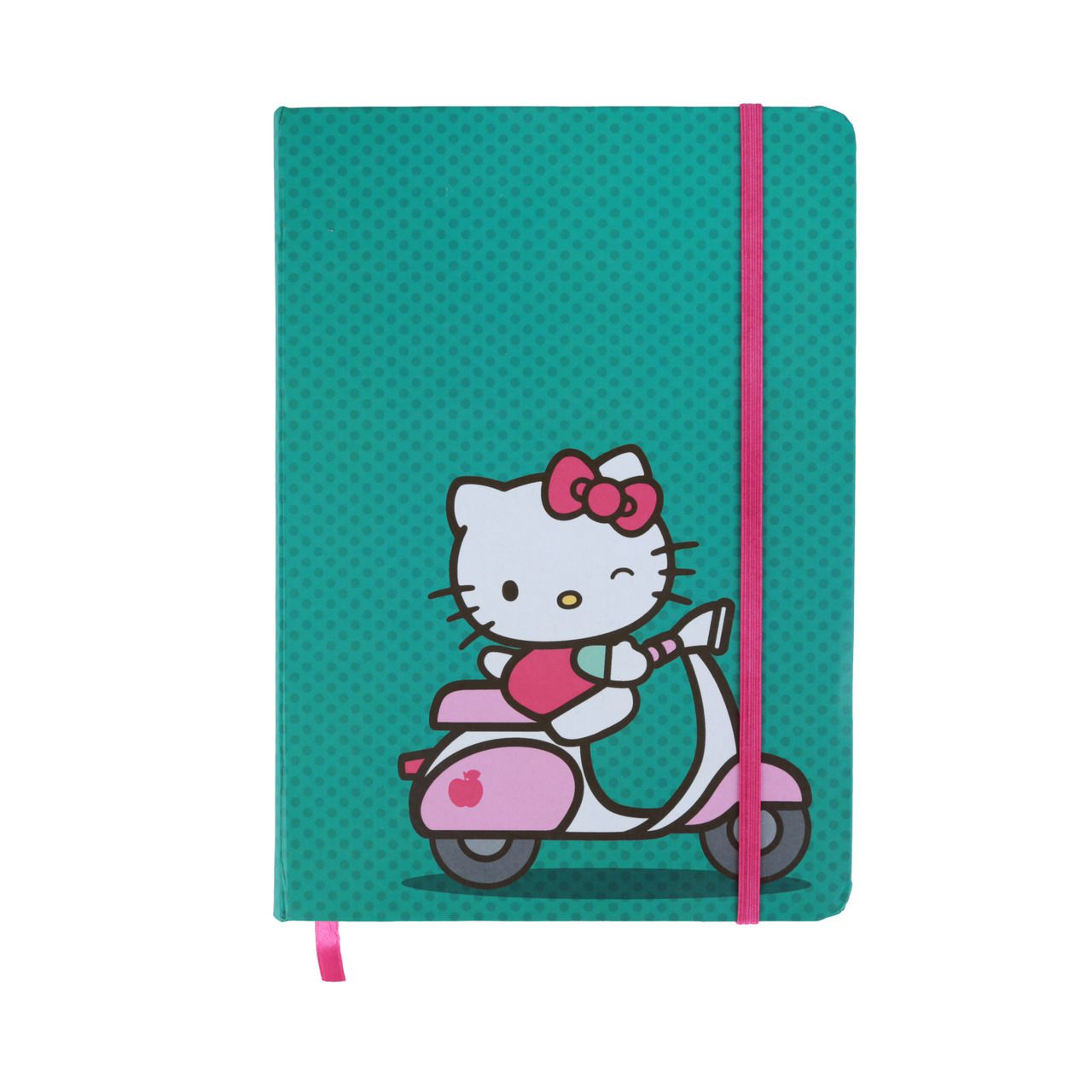 Caderneta de Anotações: Hello Kitty (Ridding A Bike) (A5)