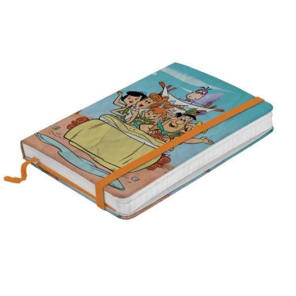 Caderno de Notas Flintstones Family In a Car