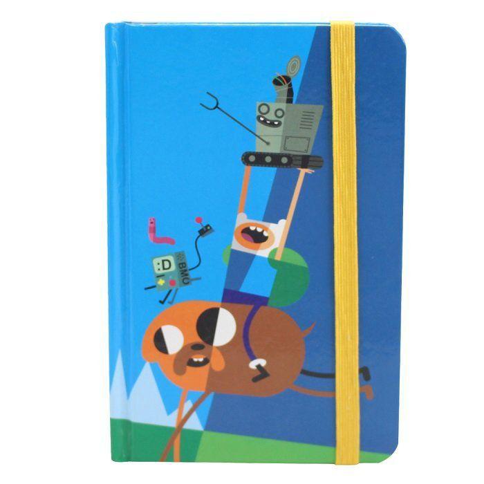 Caderno de Notas Hora de Aventura: Finn e Jake - Zona Criativa