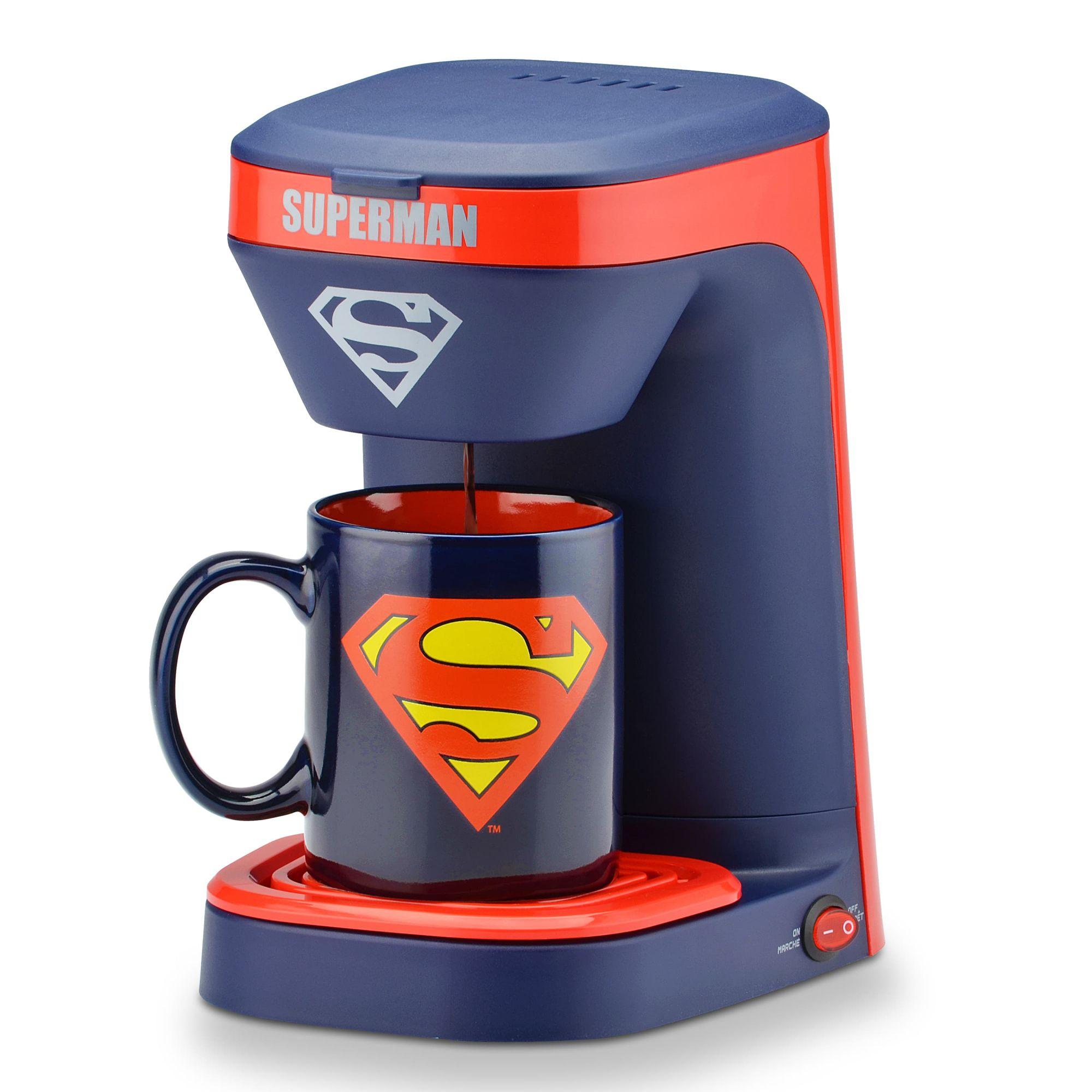 Cafeteira Super-Homem (Superman): DC Comics - 1 Xícara (Apenas Venda Online)