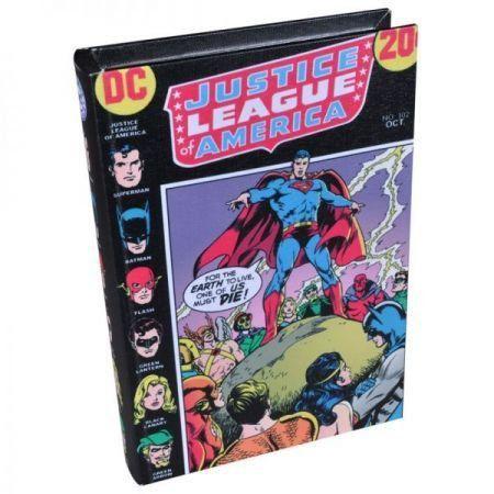 Caixa de Livro Liga da Justiça - DC Comics