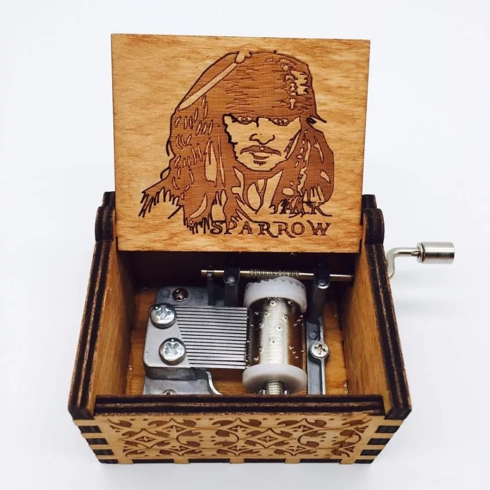 Caixa De Música Capitão Jack Sparrow: Piratas do Caribe - EV
