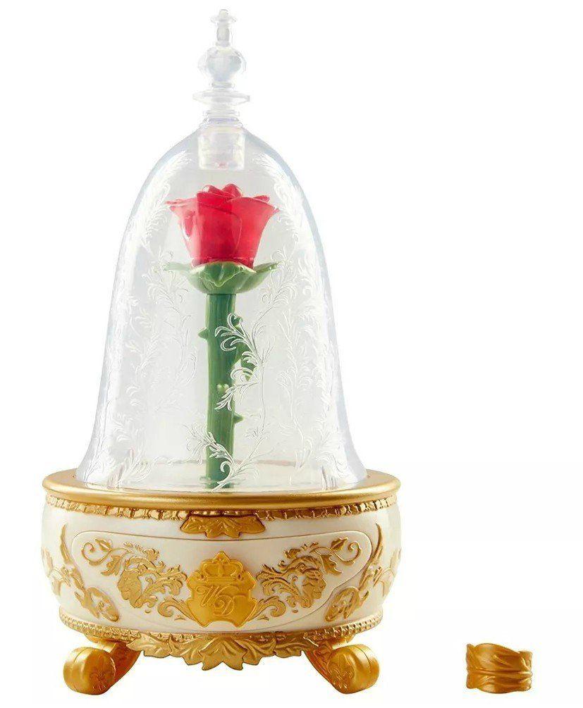Caixa de Música com Porta Jóia Rosa Encantada: A Bela e a Fera - Sunny