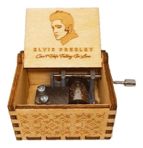 Caixa De Música Elvis Presley- Can't Help Falling The Love