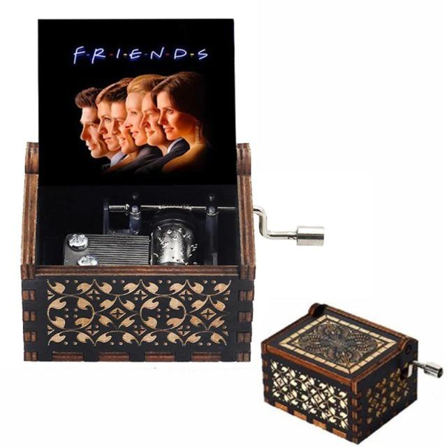 Caixa De Música Friends Preto - EVALI