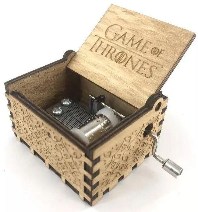 Caixa De Música Guerra Dos Tronos