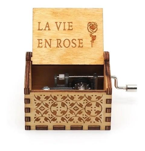 Caixa De Música La Vie En Rose